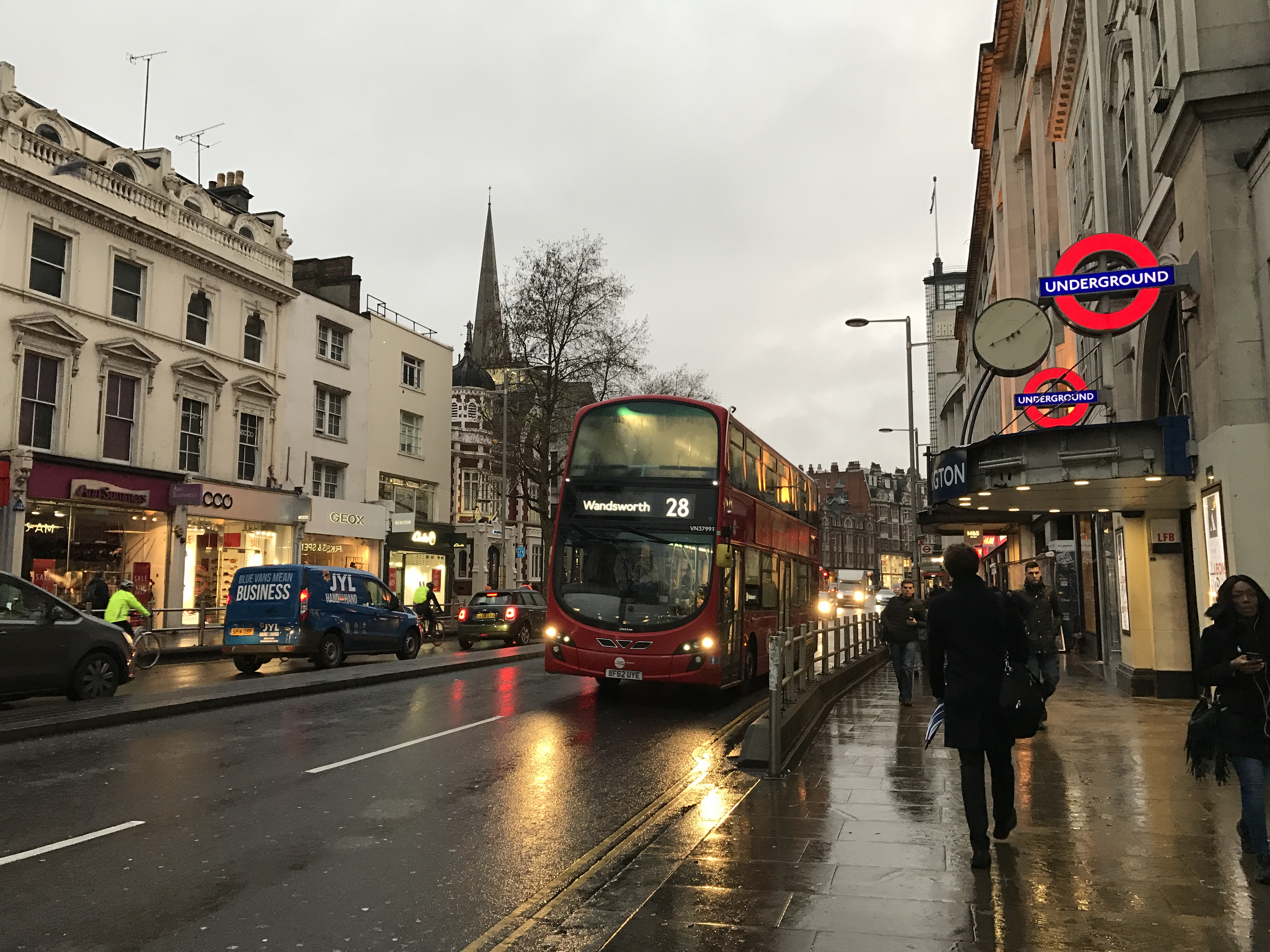 7 Kensington High Street by tube.JPG